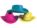 Colorful Cowboy Hats