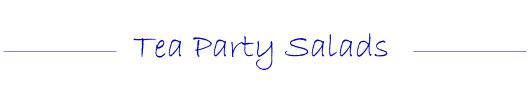 Tea Party Salad Recipes