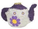 Purple Tea Pot Pinata