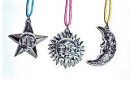 Sun Moon Star Necklace