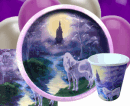 Unicorn Castle Box