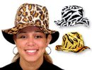 Faux Animal Bucket Hats