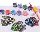 Tropical Fish Sun Catcher Craft